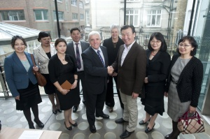 I coordinated a visit to the UK by this group of MPs and health officials from Mongolia in May 2013, seen here at a reception hosted by the Royal College of Nursing